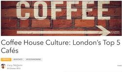 Top 5 Coffee Shops in London