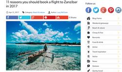 11 reasons to visit Zanzibar
