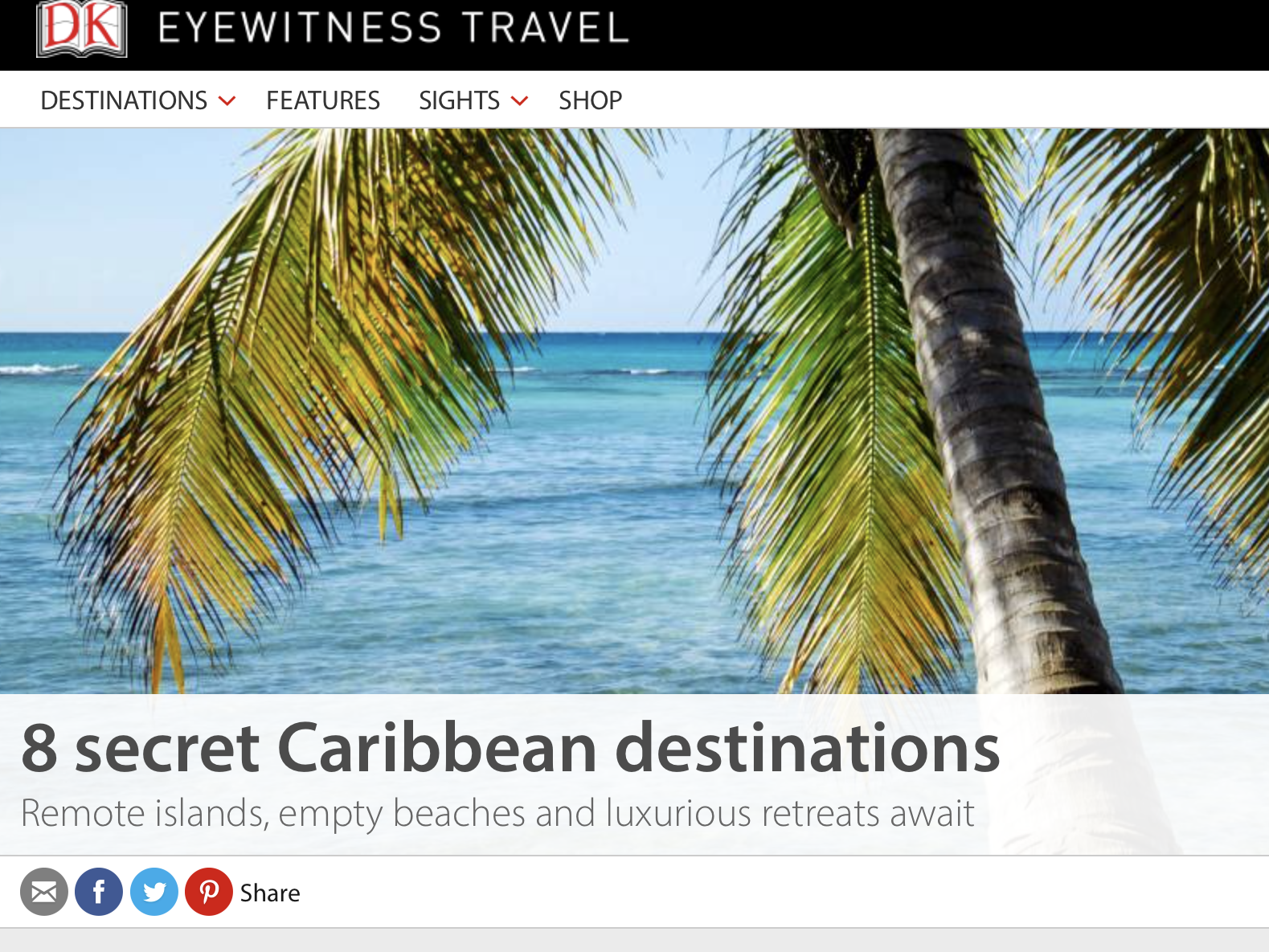 8 secret Caribbean destinations