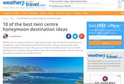 Twin-centre honeymoon ideas