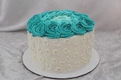 rosette scroll cake