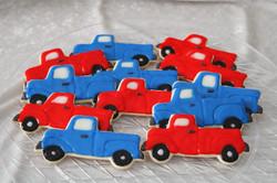 Old truck cookies