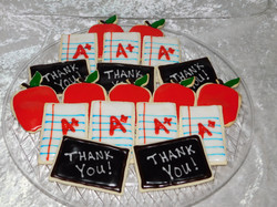thank you teacher cookies