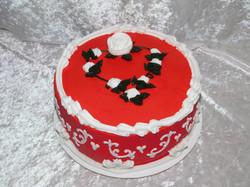 V-day cake