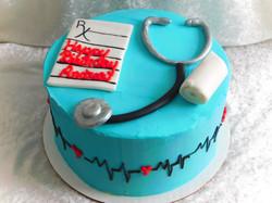 nurses birthday cake