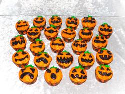 Jack O Latern Cupcakes