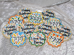 Birthday Cookies 4