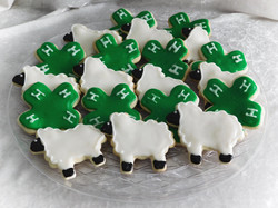4 H sheep cookies
