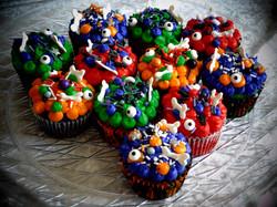 Halloween cupcake 1