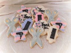 hairstylist cookies