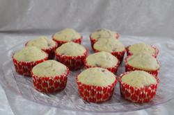 Strawberry kiwi muffins