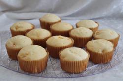 Amaretto orange muffins