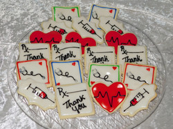 medical thank you cookies