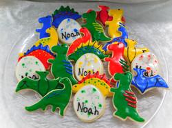dinosaur cookies 2