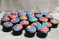 lisa frank cupcakes