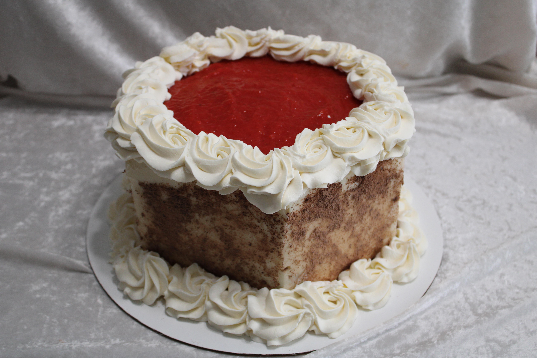 Black forest strawberry cake 2