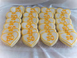 50th cookies