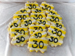 30th cookies