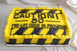 caution cake