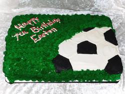 soccerball cake
