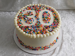 Sprinkle 30 cake