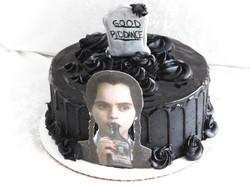 Wednesday Adams cake