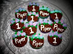 Flower Basket cupcakes