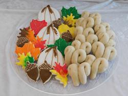 fall cookie assortment