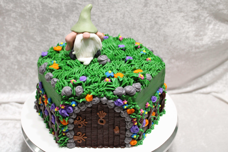 Gnome cake 1