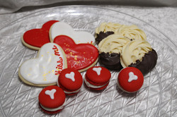 V-Day cookie box