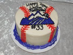 Rockies cake
