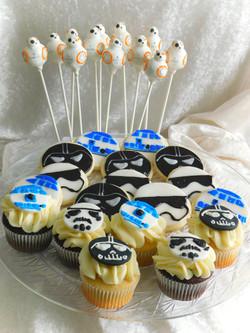 star wars birthday treats
