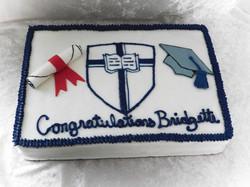 CCU grad cake