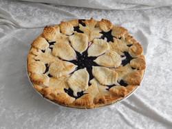 g.f. blueberry pie