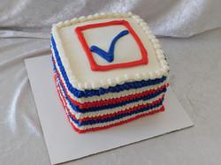 voting cake