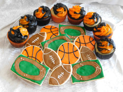 grad cupcakescookies