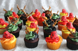 wester-hunting cupcakes