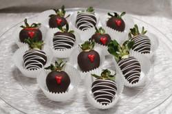 valentine's day strawberries