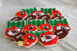Chiefs super bowl cookies