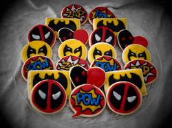 Comic Book Cookies