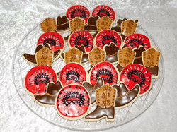 cowboys and indians cookies