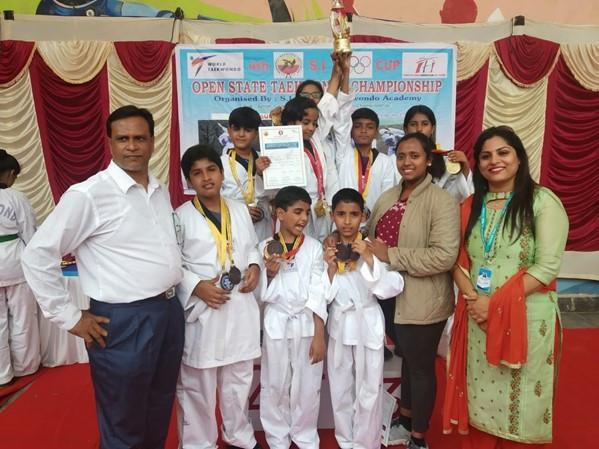 Open House Karnataka Taekwondo Champions