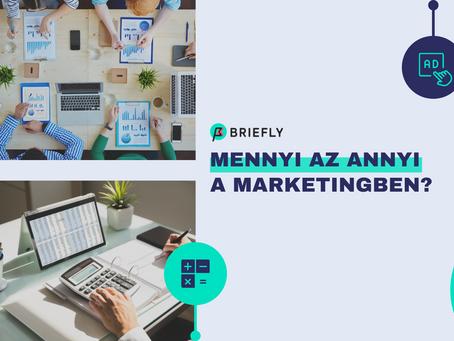 Mennyi az annyi a marketingben? • Költségkeret tervezés és allokálás hatékonyan