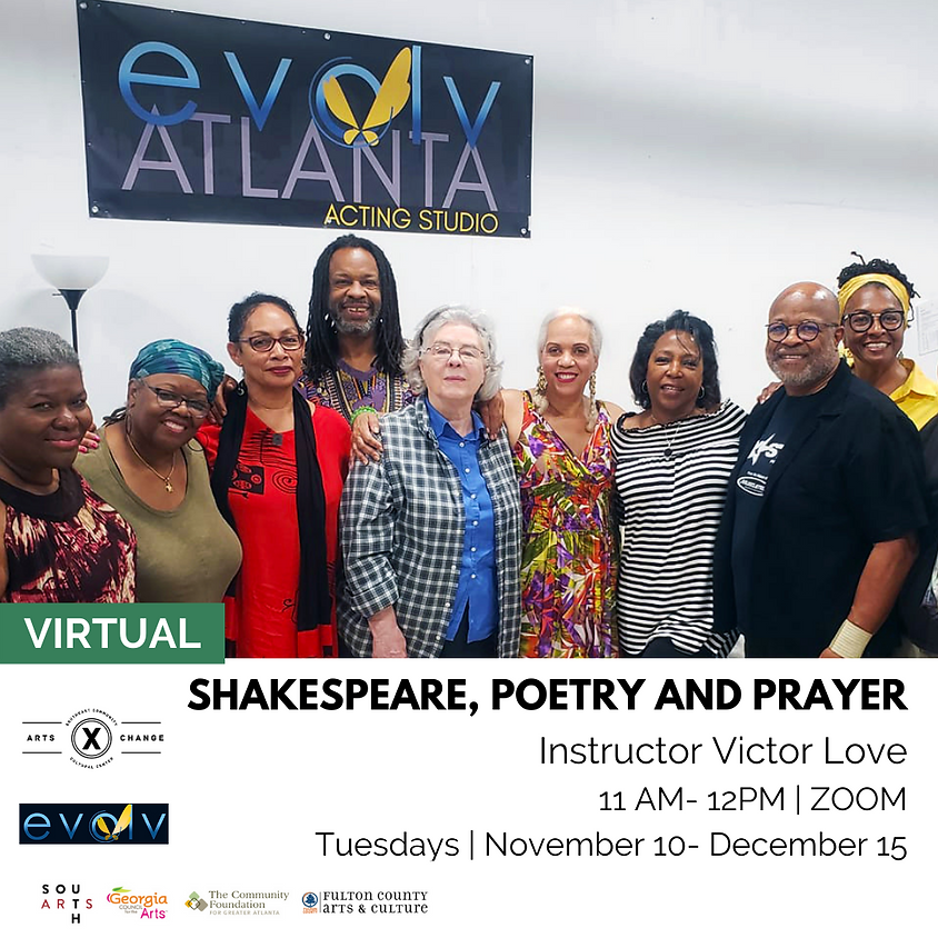 Shakespeare, Poetry and Prayer with Victor Love