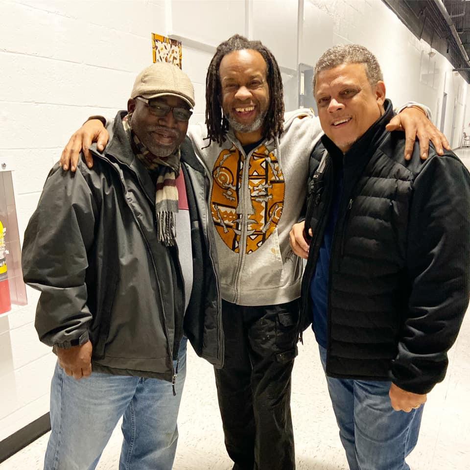 Shawn Dowdell, Kenneth Zakee and Ric Washington
