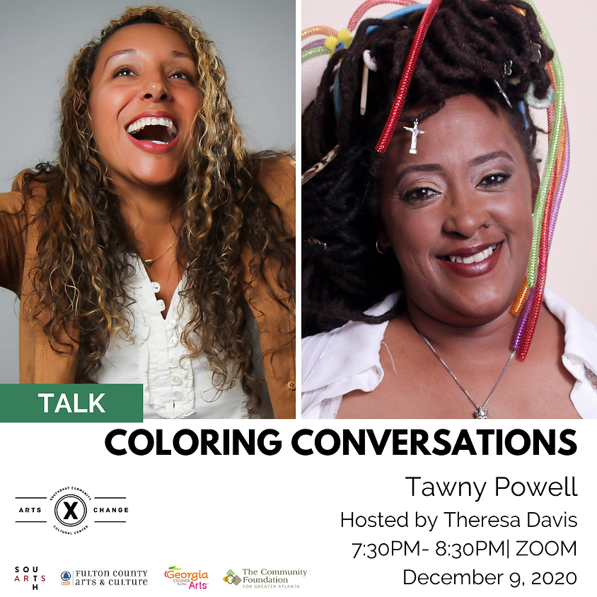 Coloring Conversations with Tawny Powell
