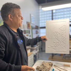 Ric Washington-ArtsXchange 2019- Studio Artist