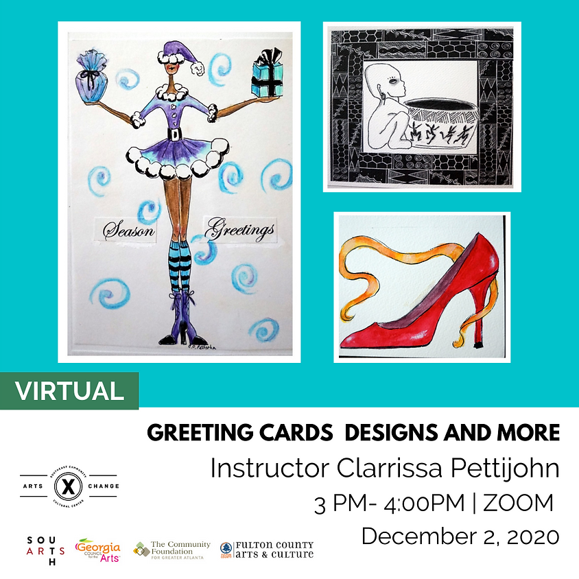 Greeting Cards Designs and More with Clarrissa Pettijohn