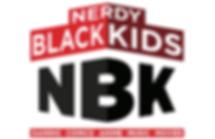 Nerdy Black Kids Logo