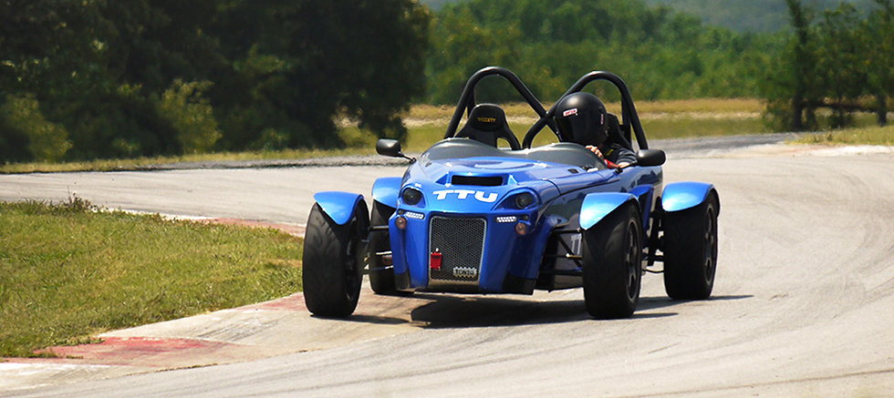 Toniq CB, Lightweight, Trackday, Racetrack, Texas, Blue, Racecar, Hillclimb, Sprint